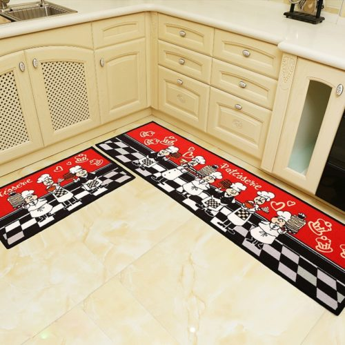 Kitchen Runner Rugs Anti-Slip Mats