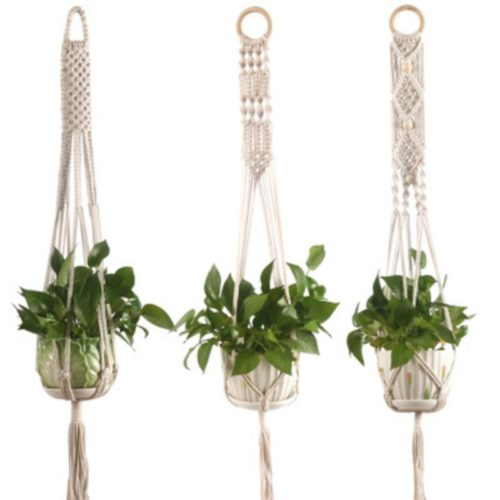 Macrame Pot Hanger Wall Decor