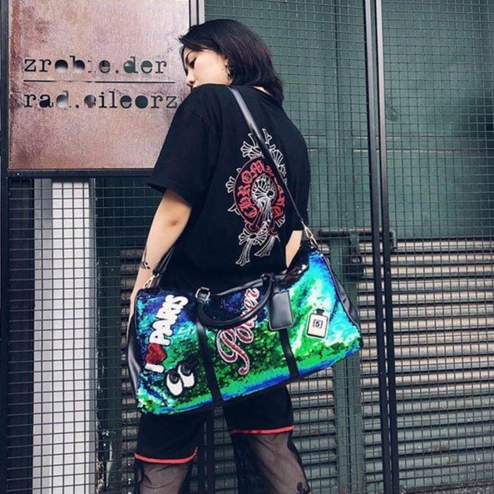 Weekend Duffle Bag Sequin Design