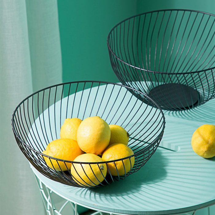 Wire Fruit Basket Storage Container