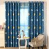 Kids Bedroom Curtain Celestial Body