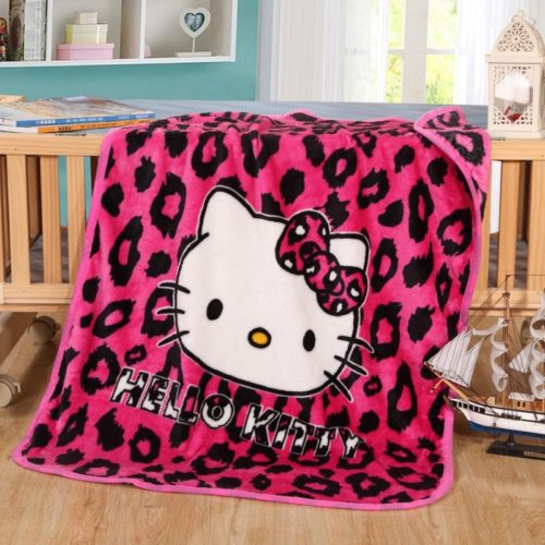 Kids Fleece Blanket Cartoon Pattern