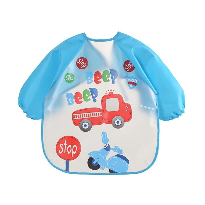 Long Sleeve Bib Baby Apron