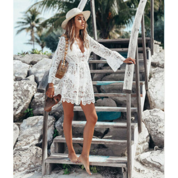 Lace Cover Up Fashionwear