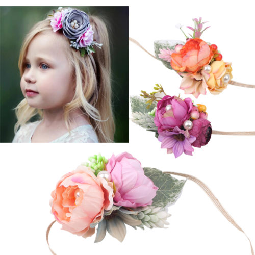 Flower Hair Band Kids Cute Headband