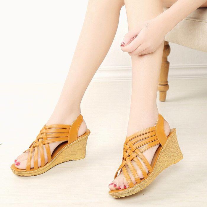 Ladies Wedges Comfortable Footwear