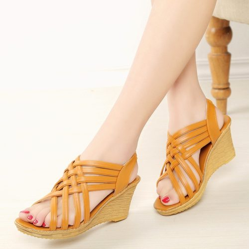 Ladies Wedges Comfortable Footwear