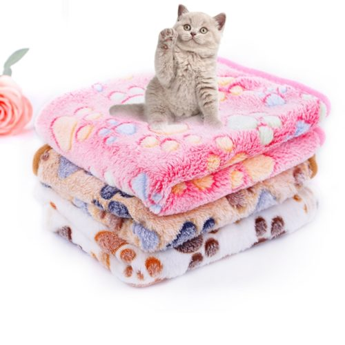 Puppy Blanket Coral Fleece Fabric