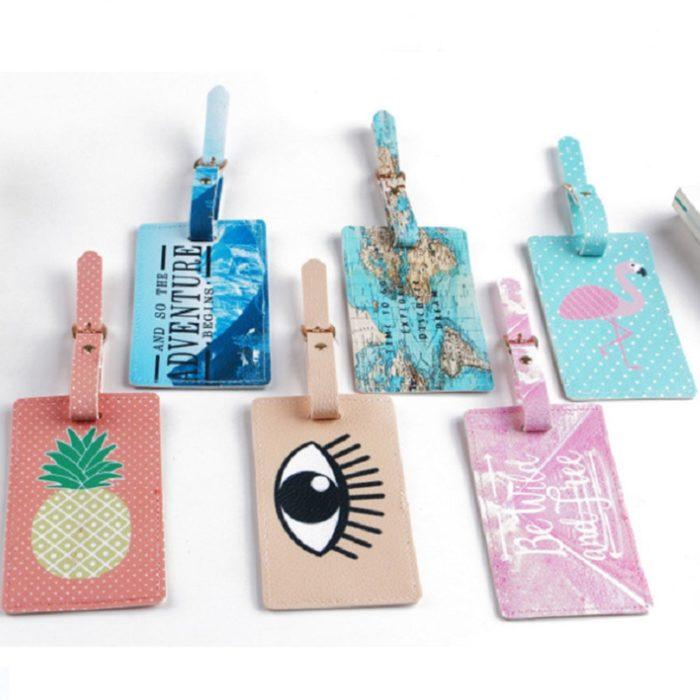 Suitcase Tag Cute Luggage Accessory