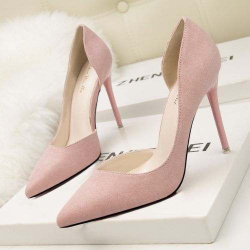 Ladies High Heel Shoes Fashion Footwear
