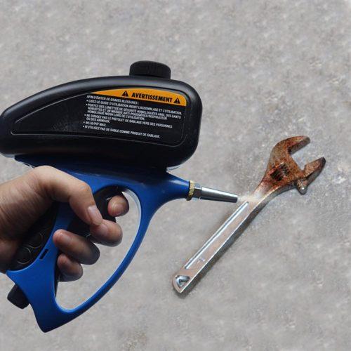 Mini Sandblaster Handheld Gun