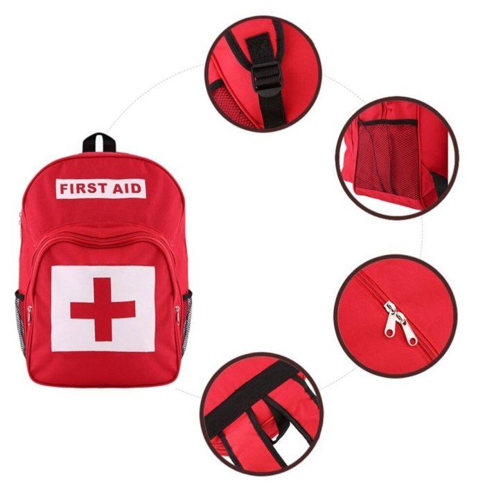 Emergency Backpack First Aid Kit Bag