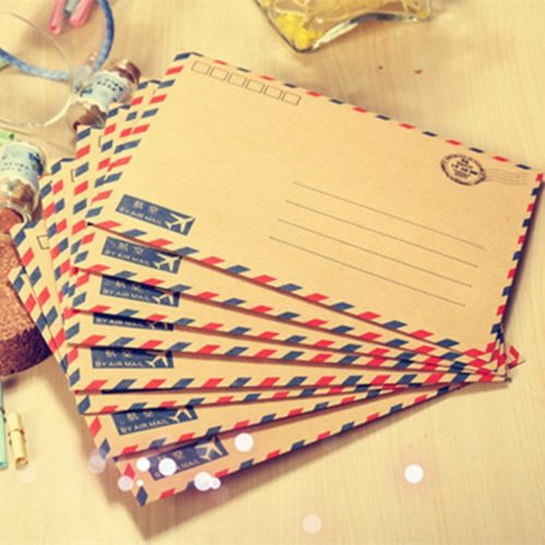 Letter Envelope Vintage Stationery Set
