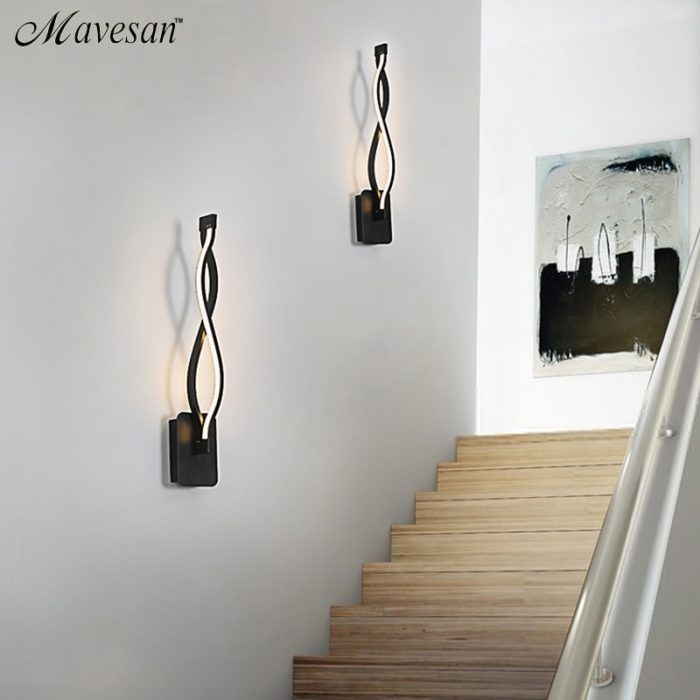 Contemporary Wall Light LED Lamp Fixture