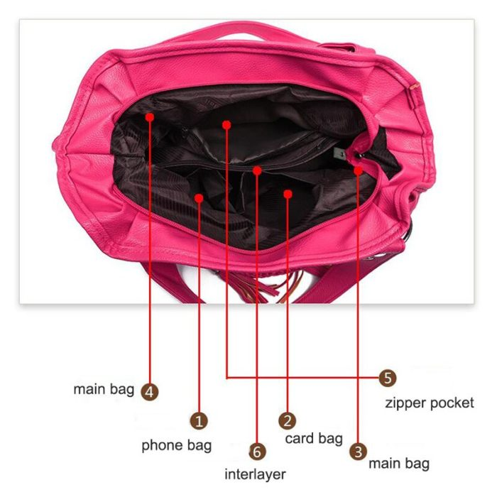 Ladies Leather Handbag Casual Bag