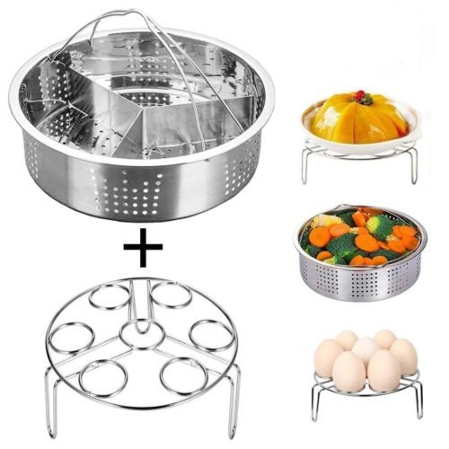 Vegetable Steamer Basket 3PC Set