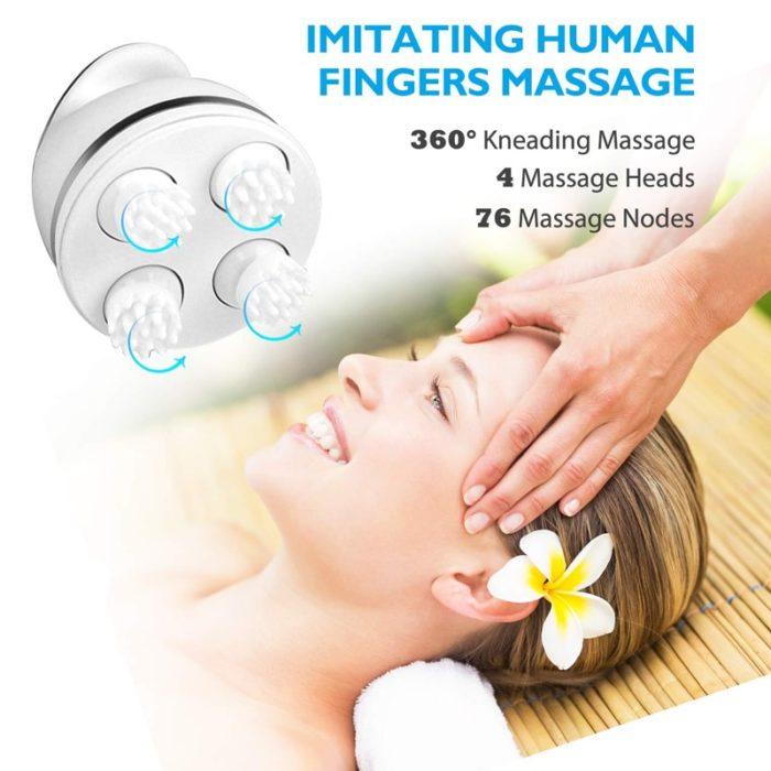 Electric Head Massager Scalp Vibrator