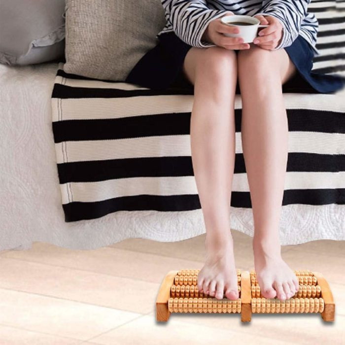 Wooden Foot Massager Pain Reliever