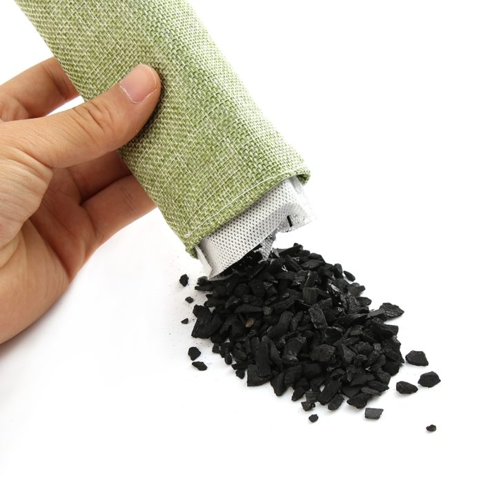 Bamboo Charcoal Bags Activated Carbon 2PCs