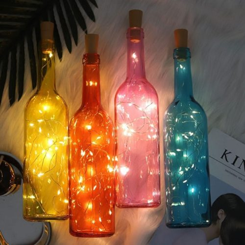 LED Bottle Light Battery Powered Light