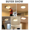 Round Ceiling Light Decorative Lamp