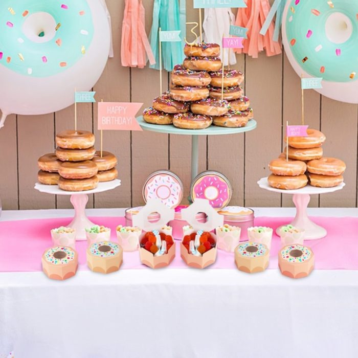 Donut Boxes Party Gift Favors (10Pcs)