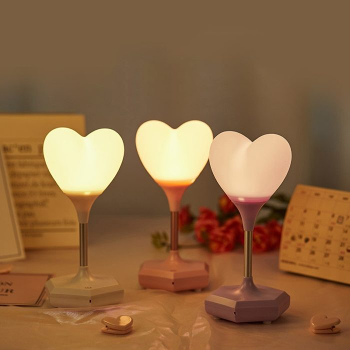 Night Lamp For Bedroom Heart Light