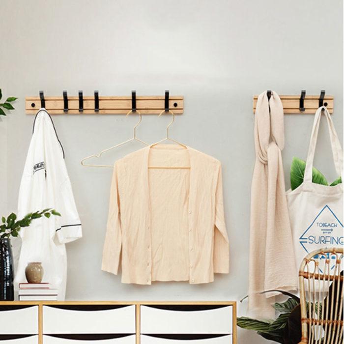 Coat Hanger Hooks Wall-Mounted