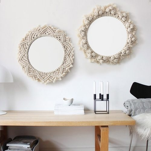Decorative Wall Mirror Hanging Decor