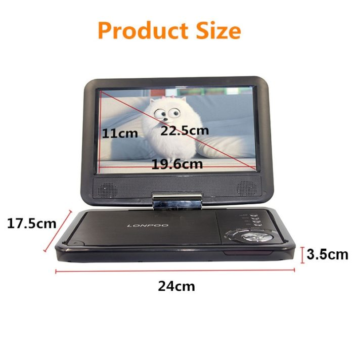 Portable DVD Movie Player