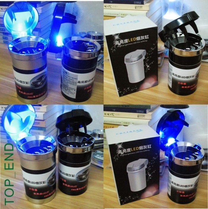 Portable Ashtray Cool LED Ashtray