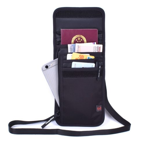 Passport Bag RFID Blocking Wallet