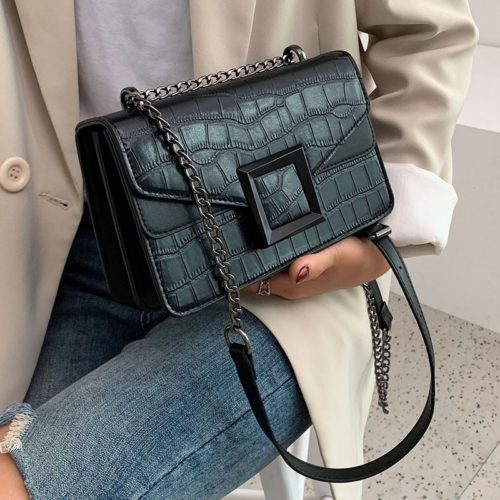 Chain Handbag Leather Bag