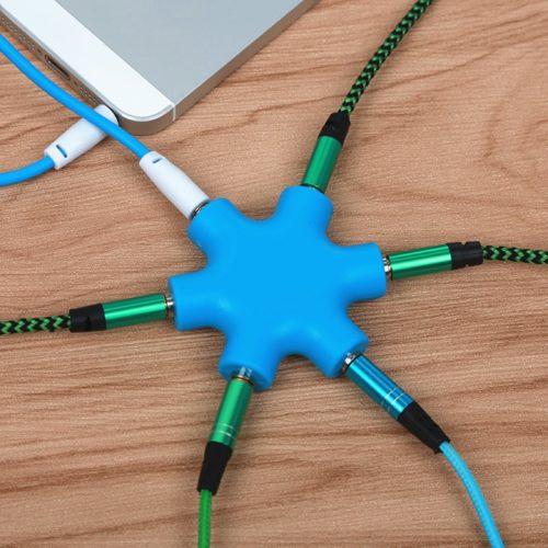 Audio Splitter Cable 6 Ports
