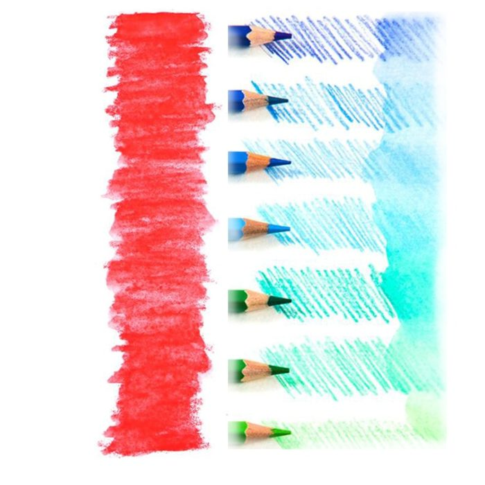 Watercolor Pencils Painting Set