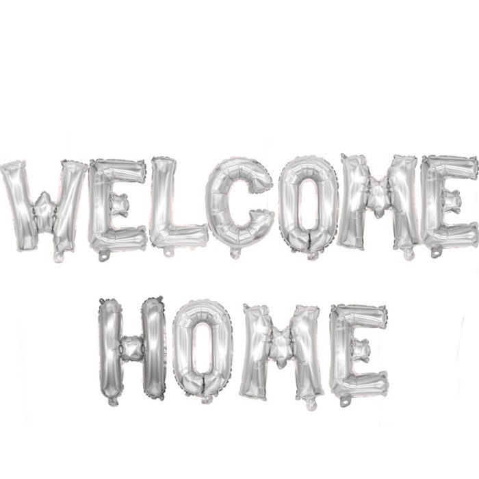 Welcome Home Balloons Party Decorations