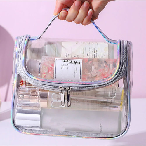 Transparent Makeup Bag Waterproof Case