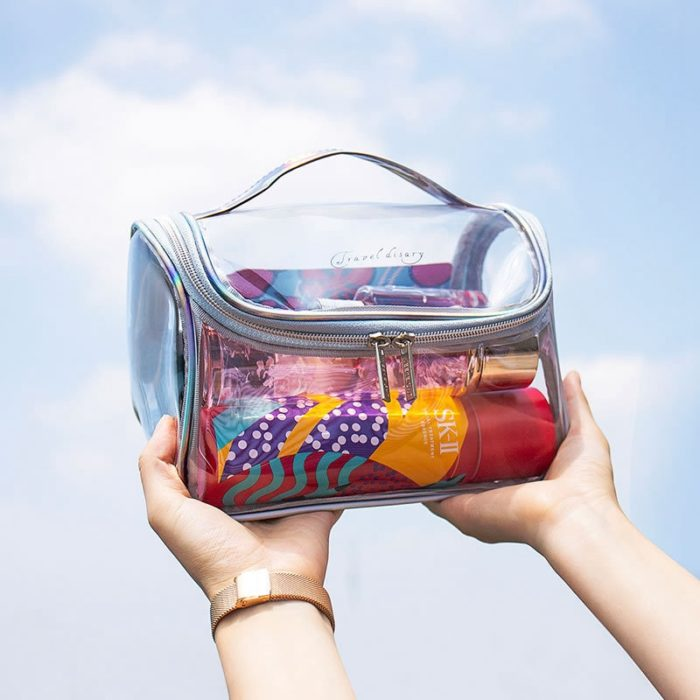 Transparent Makeup Bag Waterproof Case
