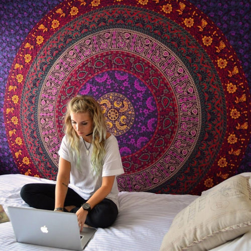 Mandala Blanket Bohemian Tapestry