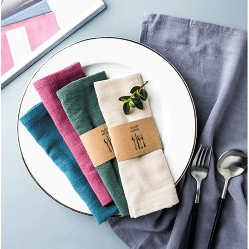 Table Napkin Linen Cloth