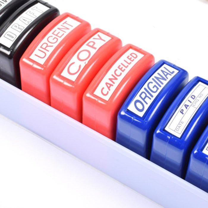 School Stamps Teacher Seal Set