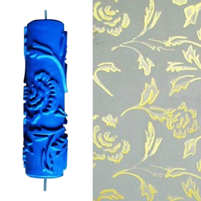 Patterned Paint Roller Reusable Roll
