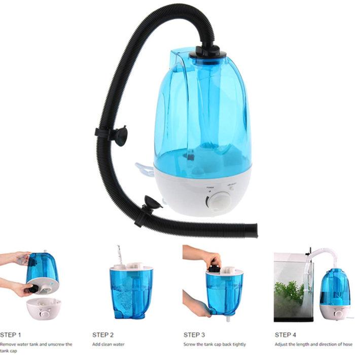 Reptile Humidifier Portable Device