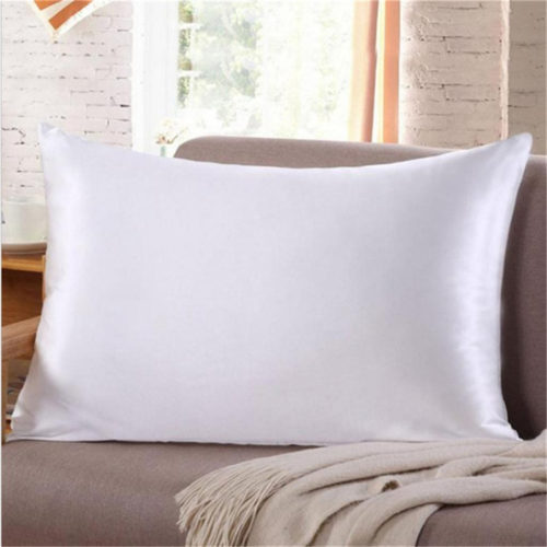 Silk Pillow Cover Soft Pillowcase