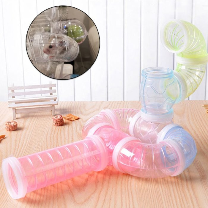 Hamster Tunnels Plastic Pet Accessories