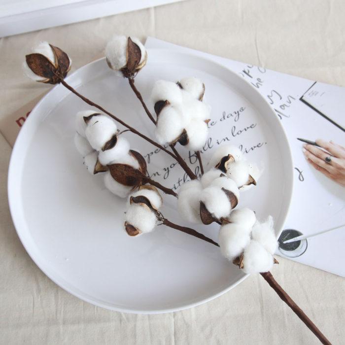 Cotton Decor Artificial Flower Decor