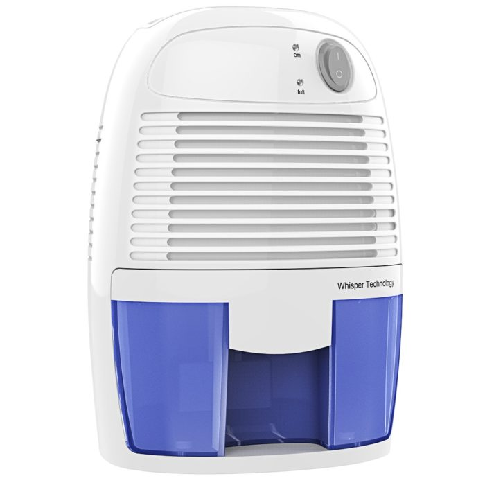 Small Dehumidifier 250ml Portable Device