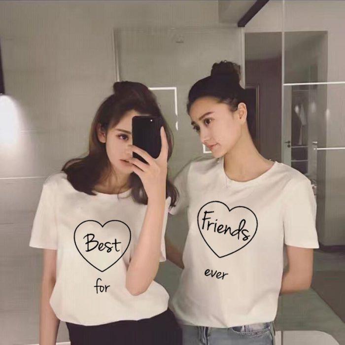 Matching Best Friend Shirt Cute BFF T-Shirt