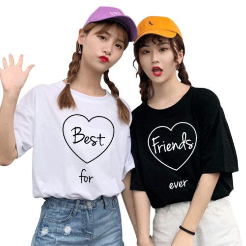 Matching Best Friend Shirt Cute BFF T-Shirt