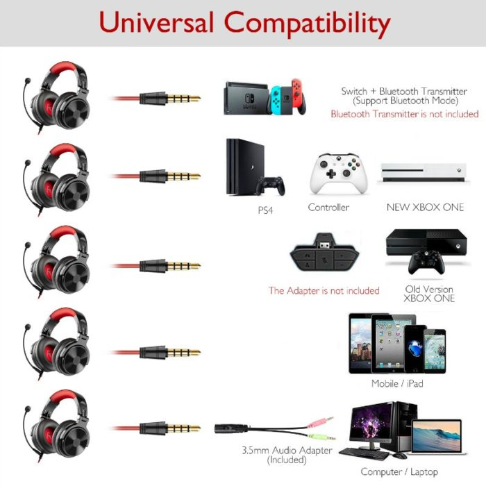 Wireless Gaming Headphones Bluetooth